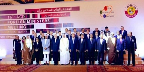 Asia Cooperation Dialogue held in Doha, Qatar