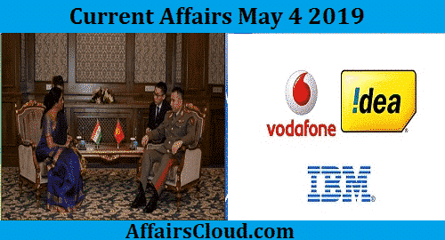 Current Affairs Today May 4 2019