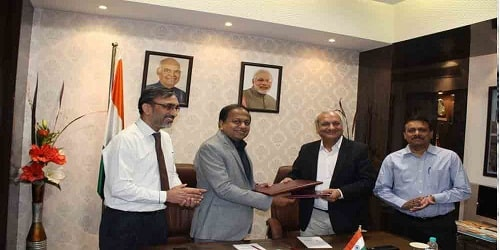 DCIL signed MoU with WAPCOS