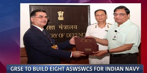 Eight ASWSWCs for Indian Navy