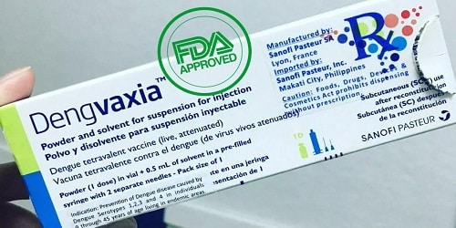 FDA approved Dengvaxia