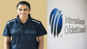 GS Lakshmi first woman female ICC match referee