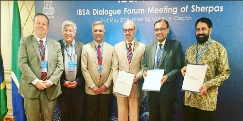 IBSA Sherpas meet concluded in Cochin