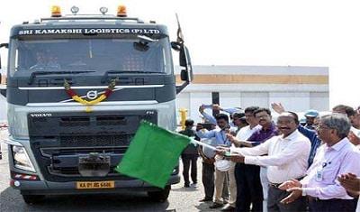 ISRO flagged off shipment of India's largest liquid hydrogen storage tank