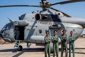 India's first all woman crew flies