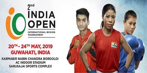 India Open International Boxing Tournament 2019
