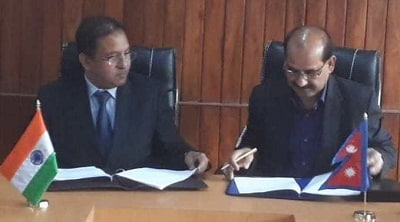 KRCL contract with Nepal's Railways