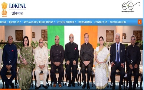 Lokpal website inaugurated