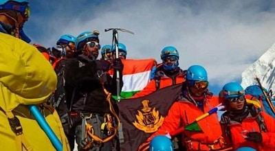 NSG Commandos summit Mount Everest