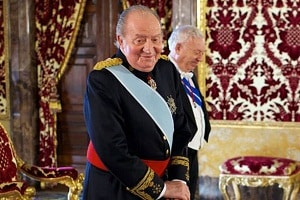 Spain's former monarch Juan Carlos