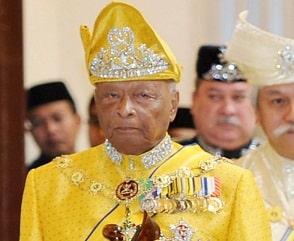 Sultan Ahmad Shah Sultan Abu Bakar passed away