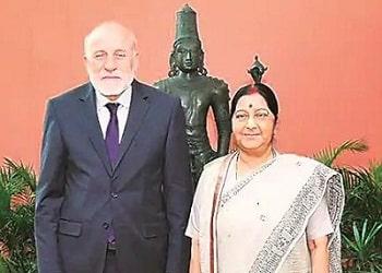 Umer Daudzai's visit to India1