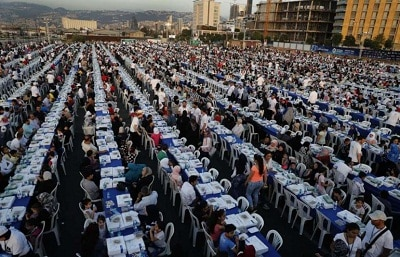World Records for holding longest iftar