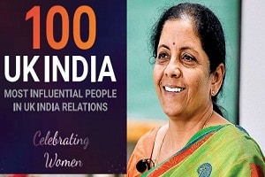 100 Most Influential in UK-India Relations Celebrating Women' list