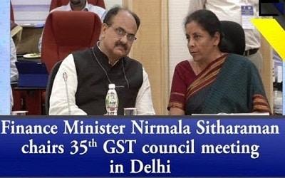 35th GST Council Meeting