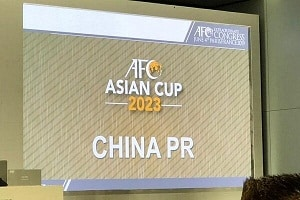China to host 2023 Asian Cup