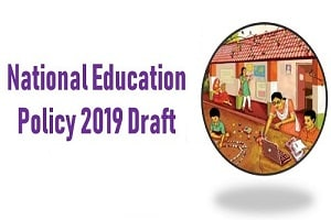 Draft National Education Policy 2019