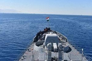 INS Tarkash reaches Alexandria