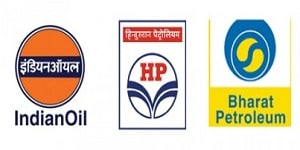 IOCL, BPCL and HPCL