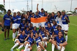 Indian women's Rugby team