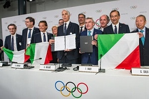 Italy to host 2026 Winter Olympics.