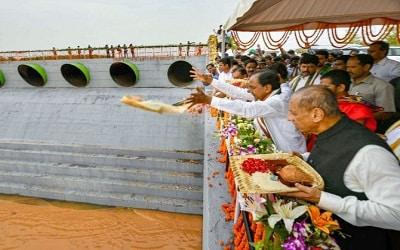 Kaleshwaram Lift Irrigation Project (KLIP) inauguration