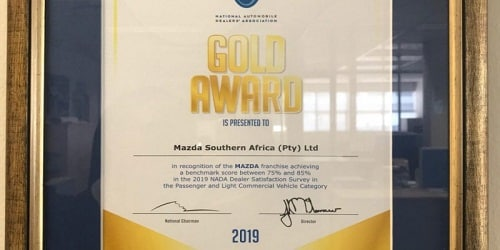Mahindra wins Gold Award in South Africa