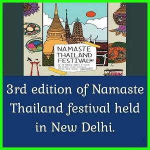 Namaste Thailand Festival 2019
