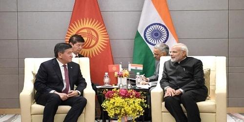 Narendra Modi's visit to Kyrgyzstan