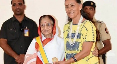 Pratibha Patil awarded Mexico's highest civilian award