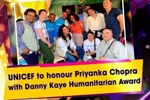 Priyanka Chopra awarded Danny Kaye Humanitarian Award