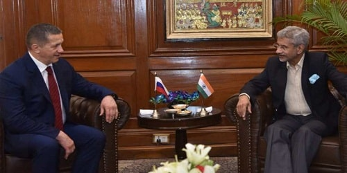 Russian Deputy Prime Minister Yury Trutnev's visit to India