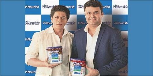 """Shah Rukh Khan - """"V-Nourish"""""""