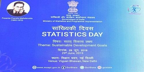 Statistics Day 2019 observed on June 29