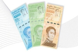 Venezuela will release new Banknotes of 10,000, 20,000 and 50,000 bolivar