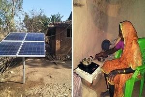 first solar kitchen only village in India
