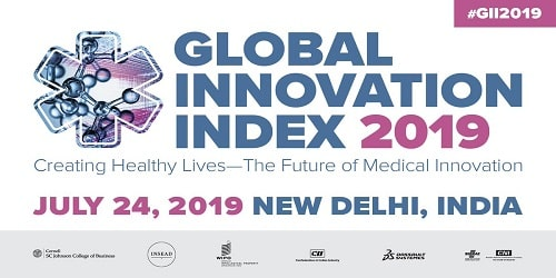 12th Edition of the Global Innovation Index for the year 2019