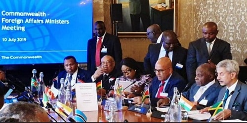19th Commonwealth Foreign Affairs Ministers Meeting