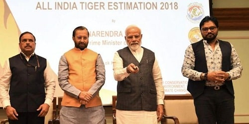 4th cycle of All India Tiger Estimation 2018
