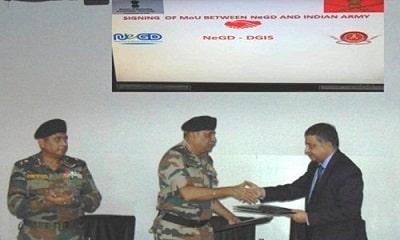 Army & NeGD signed MoU