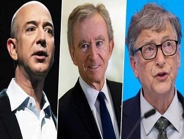 Bernard Arnault Overtakes Bill Gates