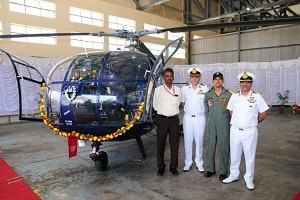 Chetak helicopters by HAL