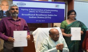 DoT and ICRIER sign MoU