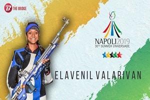 Elavenil Valarivan clinched women's 10m Air Rifle