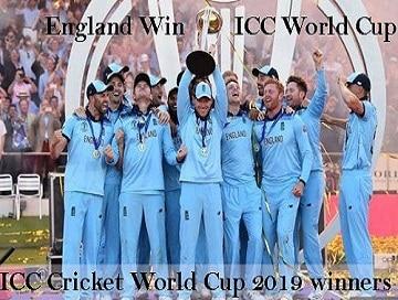 ICC Men's World Cup 2019
