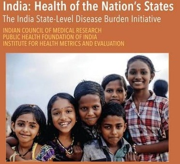 India Health of the Nations States