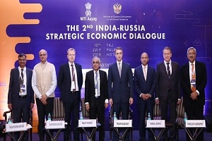 India-Russia Strategic Economic Dialogue 2019