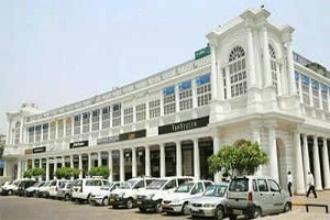 New Delhi's Connaught Place
