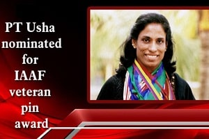 PT Usha nominated for IAAF's 'Veteran Pin'