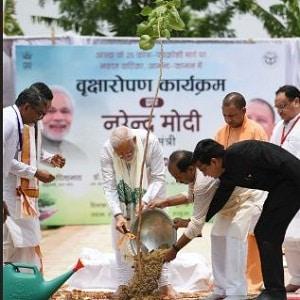 Prime Minister Narendra Modi's visit to Varanasi